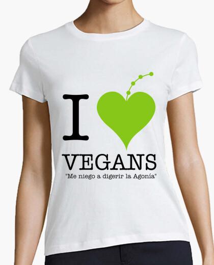 Tee-shirt je aime les végétaliens