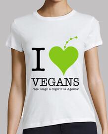 je aime les végétaliens