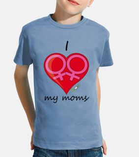 je aime mes mamans