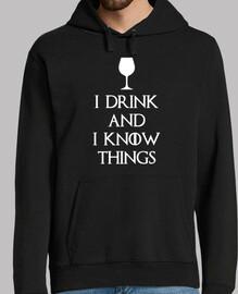 je bois and je sais que les choses