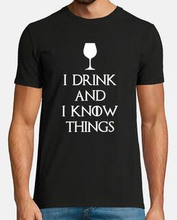 Je bois et je sais des choses