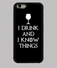 je bois et je sais que les choses