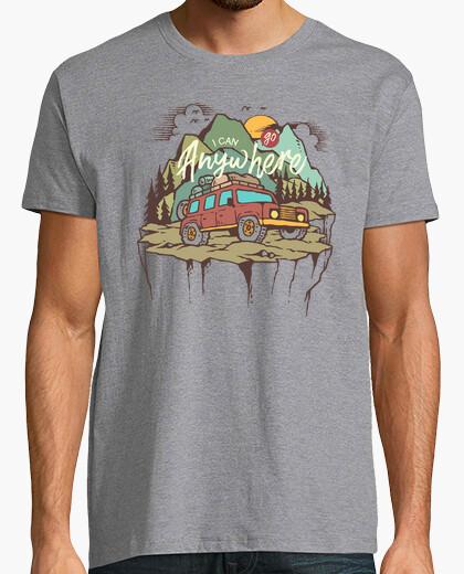 Tee-shirt je can aller n39importe où