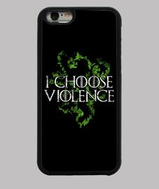 je choisis la violence