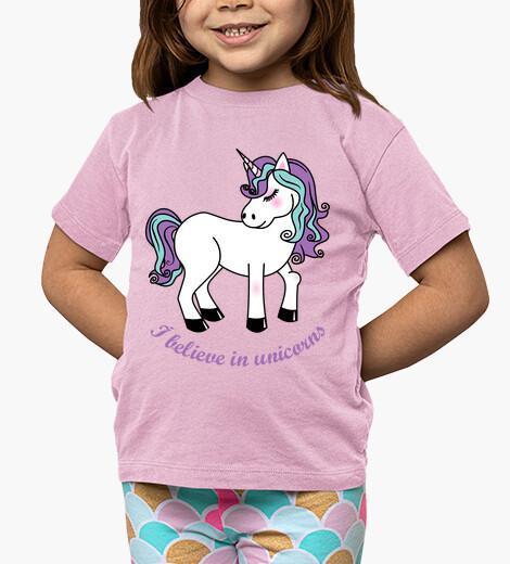 Vêtements enfant Je crois aux Licornes