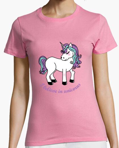 Tee-shirt je crois en licornes