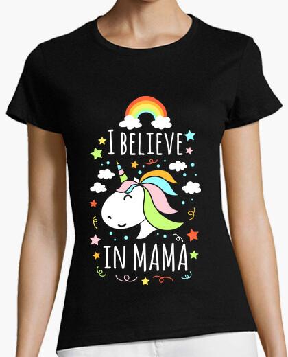 Tee-shirt je crois en maman
