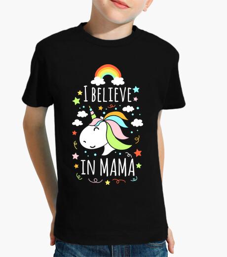 Vêtements enfant je crois en maman