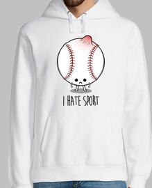 je déteste le sport