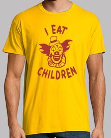 Je eat enfants clown comme des enfants