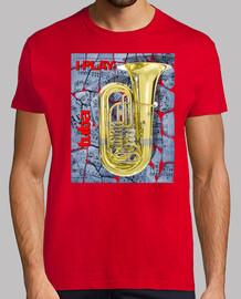 je joue au tuba