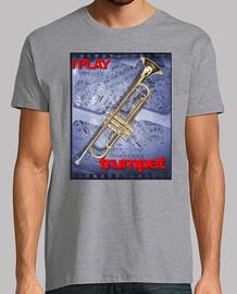 je joue de la trompette