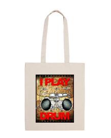 je joue du tambour