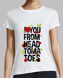 je love de la head tomates