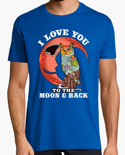 Tee-shirt je love jusqu39à la lune and back