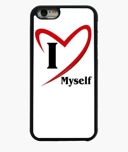 Funda iPhone 6 / 6S Je m'aime (Dessin 800114)