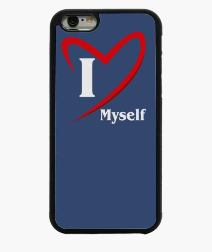 iPhone 6 und iPhone 6S Hülle je m'aime texte clair (8001 bleistiftzeichnung
