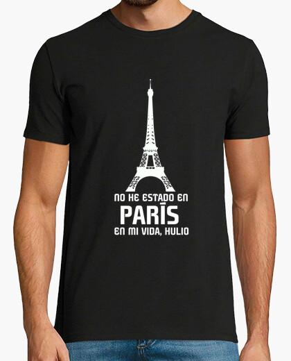 Tee-shirt Je n39ai pas été à Paris dans ma vie hu