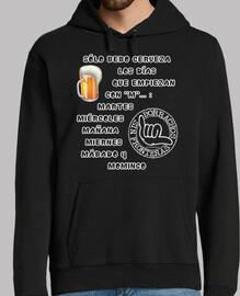 Je ne bois que de la bière les jours qu