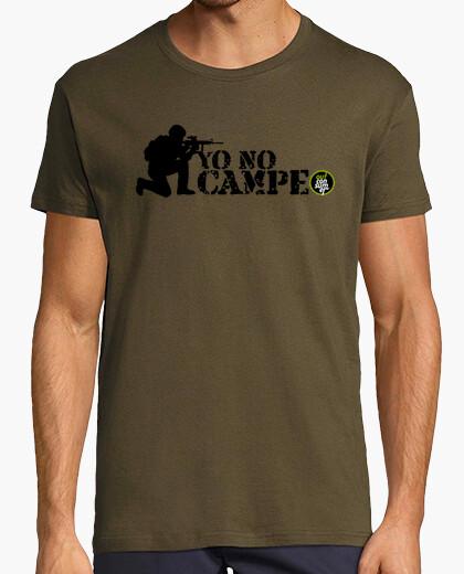 Tee-shirt Je ne campe pas