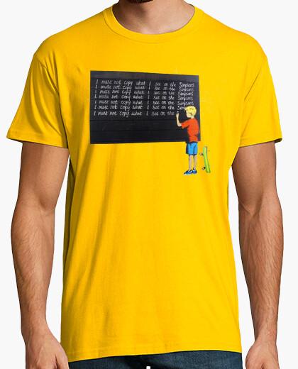 Tee-shirt Je ne dois pas copier ce que je vois