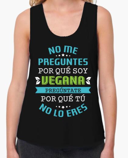 Tee-shirt je ne me demande pas pourquoi suis végétalien