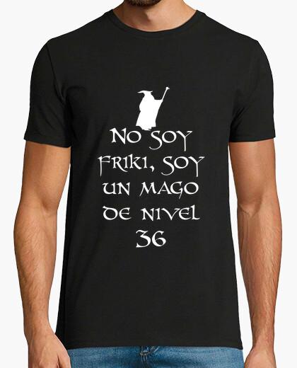 Tee-shirt Je ne suis de geek (blanc)