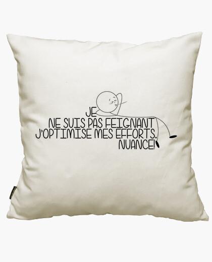 Je ne suis pas feignant cushion cover
