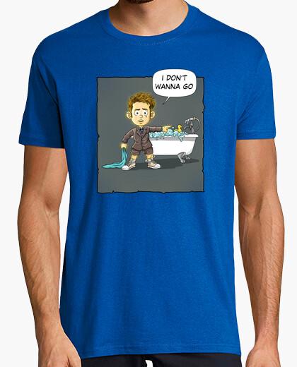 Tee-shirt je ne veux pas aller