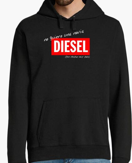Sweat je ne veux pas un moteur diesel de petite amie © setaloca