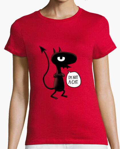 Tee-shirt je not suis not un chat