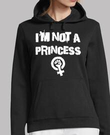 je not suis not une princesse (sweat-shirt)