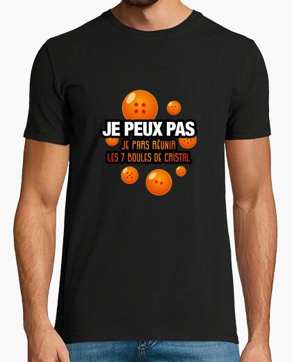 Tee-shirt Je peux pas-Boules de Cristal