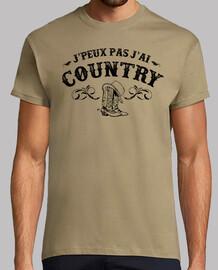 Je peux pas j ai country