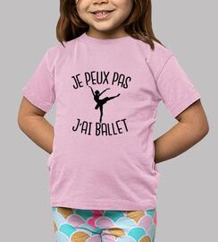je peux pas j'ai ballet