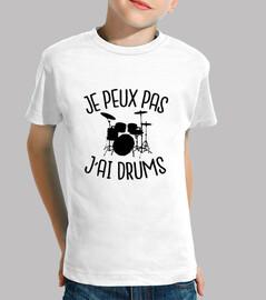 je peux pas j'ai drums