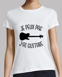 je peux pas j'ai guitare