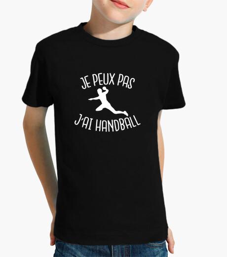 Vêtements enfant je peux pas j'ai handball