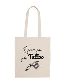 Je peux pas j'ai tattoo dermographe