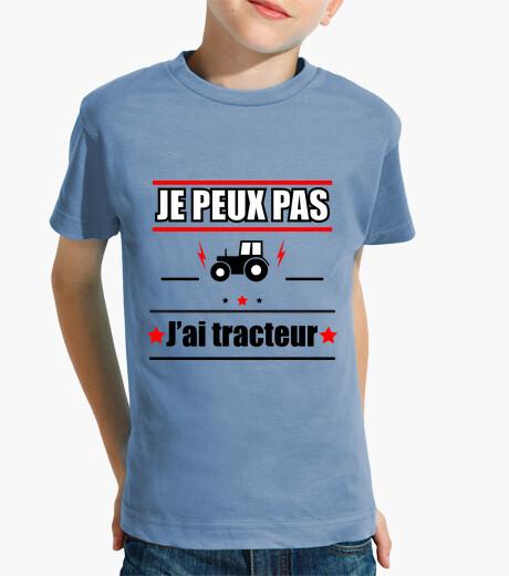 Vêtements enfant Je peux pas j'ai tracteur