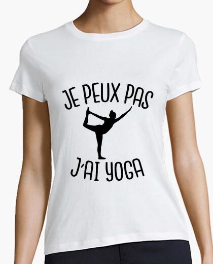 Tee-shirt je peux pas j'ai yoga