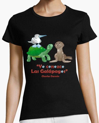 Tee-shirt je sais que les galapagos