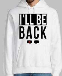 je serai de back