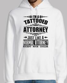 je suis avocat tatoué