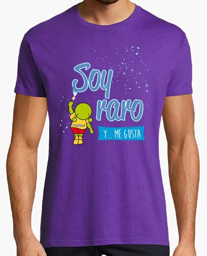 Tee-shirt Je suis bizarre ... et j'aime