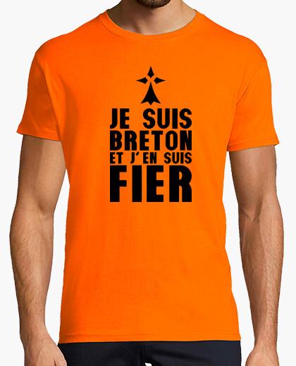 Tee-shirt je suis breton et j'en suis fier