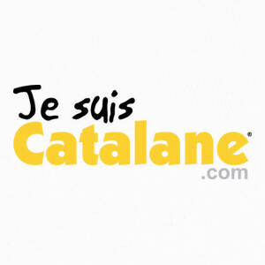 Tee-shirts Je suis Catalane - Or- Fond clair