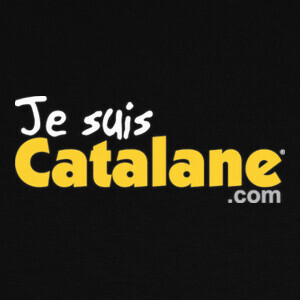 Tee-shirts Je suis Catalane - Or- Fond sombre