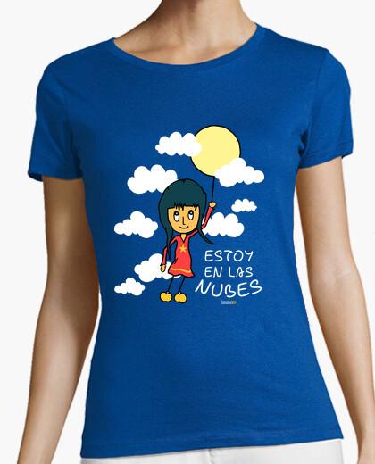 Tee-shirt je suis dans les nuages