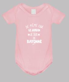Je suis de Bayonne